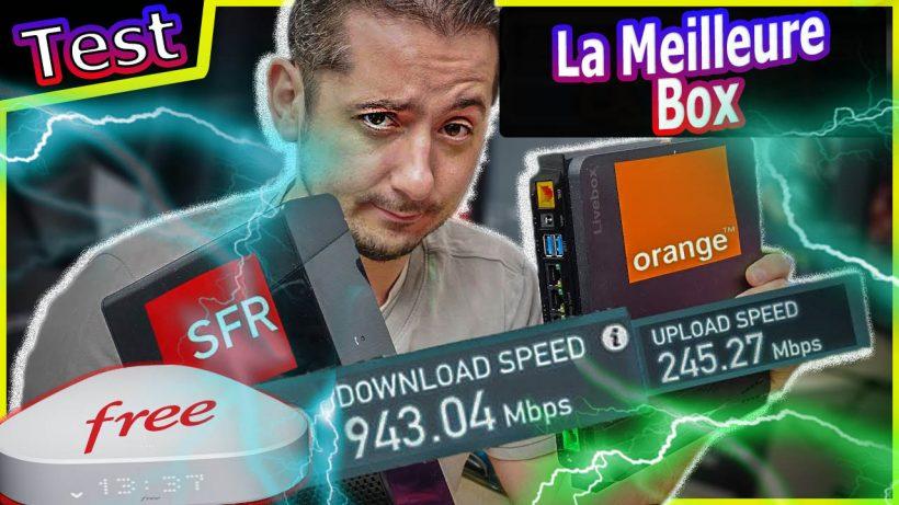 meilleure box internet freebox delta livebox Orange box sfr