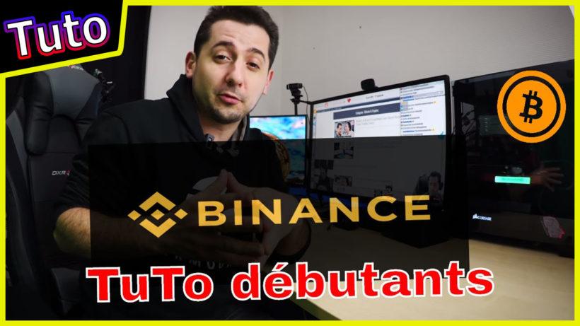 tuto binance francais trading bitcoin crypto languedegeek