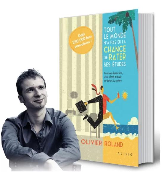 livre tout le monde olivier roland blogger youtube languedegeek