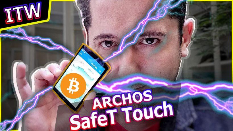 archos safeT touch nanos crypto wallet